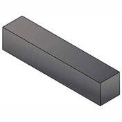 "Keystock - 3/8"" x 3/8"" x 1 Ft - 4140 Alloy Steel - Plain - Undersize - ASTM A29 - Pkg Qty 9"