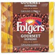 Folgers® Gourmet Supreme Ground Coffee, Regular, 1.8 oz., 42/Carton
