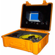 FORBEST FB-PIC3188DN-130 Portable Color Sewer/Drain Camera, 130' Cable W/ Heavy Duty Waterproof Case
