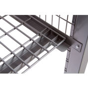"""Stor-More® LPC-S-4830 Loss Prevention Security Cabinet Welded Wire Removable Shelf 45""""W x 26""""D"""