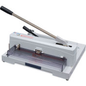 """United Tabletop Guillotine Paper Cutter - 14.5"""" Cutting Length - 150 Sheet Capacity - Gray"""