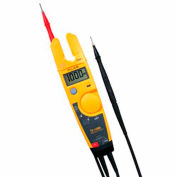 Fluke T5-1000 Voltage, Continuity & Current Tester, Voltage to 1000 V, Current to 100 A