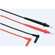 Fluke TL76 2/4 MM Probe & Silicone Test Lead Set, Cat IV 600 V, CAT III 1000 V, 10 A Rating