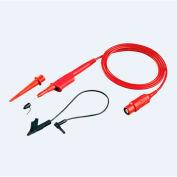 Fluke VPS210-R 10:1 Voltage Probe Set, Red, 200 MHZ, 1.2M, SM190, 600 V CAT III /1000 V CAT II rated