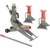 Vestil Hydraulic Forklift Jack & Jack Stands FORK-J