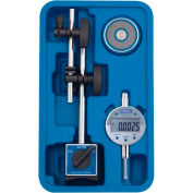 Fowler 54-585-075 Fine Adjust Mag Base Set with Indi-X Blue Electronic Indicator Set