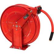"Florida Pneumatic 6802 1/2""x50' Retractable Steel Hose Reel"