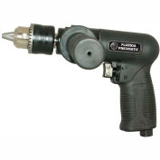 "Florida Pneumatic FP-986, 1/2"" Pistol Air Drill, 0.75 HP, 450 RPM, 4 CFM, Reversible, 90 PSI"