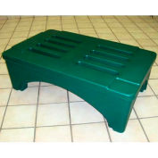 "SureStack Dunnage Rack 36""W x 22""D x 12""H - Green"