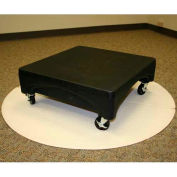 "Mini Merchandiser with wheels 24""W x 24""D x 9""H - Black"