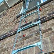 """Saf-Escape 2 Story Portable Fire Escape Ladder - Standard Walls (5-9-1/2"""" D) 1015"""