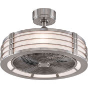 Fanimation FP7964BN Beckwith Fan, 1738 CFM, 1230 RPM, Brushed Nickel