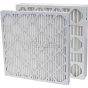 "Filtration Manufacturing 0213-24242 Pleated Filter, Merv 13, 24""W x 24""H x 2""D - Pkg Qty 12"