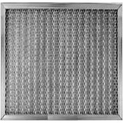 "Filtration Manufacturing 0506-16251 Mesh Filter Galvanized Steel Medium Weight 16""W x 25""H x 1""D - Pkg Qty 2"