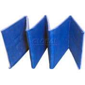 "Filtration Manufacturing 0801-2-16150 Ring Link Filter, 2 Ply, 150""L x 16""H x 1""D - Pkg Qty 4"