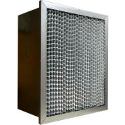 "Filtration Manufacturing 0902-242412-9-DH Ashrae Cell Filter MERV 14 Dbl. Header 24""W x 24""H x 12""D"