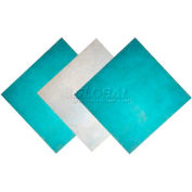 """Filtration Manufacturing 1114-12121 Polyester Media Pad Anti-Microbial Green/White 12""""W x 12""""H x 1""""D - Pkg Qty 50"""