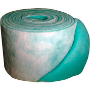"""Filtration Manufacturing 1114-36901 Polyester Media Roll, MERV 8, Green/White, 1080""""L x 36""""H x 1""""D"""