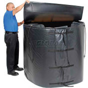Powerblanket® Insulated Tote Heater For 330 Gallon IBC Steel Tote, Up To 145°F, 240V