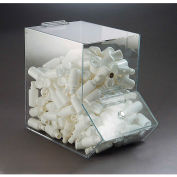 "FTR Enterprises Acrylic Dispensing Bin, Large, Clear, 7-1/4""W x 12-1/2""D x 11""H"