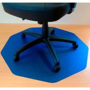 """Cleartex 9Mat Ultimat Chair Mat for Hard Floor - 38""""W x 39""""L - Cobalt Blue"""