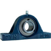 "FYH Pillow Block Mounted Ball Bearing SL20516G5, 1"" Bore Dia., Set Screw"