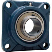 "FYH 4 Bolt Flange Mounted Ball Bearing UCF21239ED1K2, 2-7/16"" Bore Dia., Set Screw, High Temp"