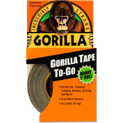 "Gorilla Tape All-Weather Duct Tape - Extra-Thick - 1"" x 10 yds - Black"