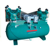 Champion® Two-Stage Duplex Air Compressor HRA20D-25, FP, 20 HP, 240 Gal, 230V, 3PH