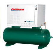 Champion® CASQEAGI10,  EVOLUTION 2 Stage Elec. Air Compressor HER10-12, 10 HP, 120 Gal,230V,3PH