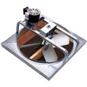 "Master Flow® Deluxe Whole House Fan 30"" Belt Drive 6000 CFM"