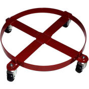 """Milwaukee Drum Dolly for 55 Gallon Drums 40146 - Round - 24"""" Diameter - 800 Lb. Capacity"""