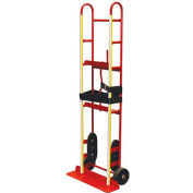 "Milwaukee Steel Appliance Truck with Manual Belt Tightener 40710 - 2-Wheel - 60""H - 800 Lb. Capacity"
