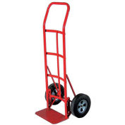 Milwaukee Hand Truck 47107 - Flow Back Handle - Solid Rubber Wheels - 800 Lb. Capacity - Red
