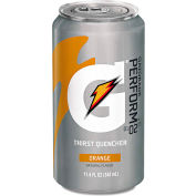 Gatorade Cans, Orange, 11.6 Oz, 24/Case