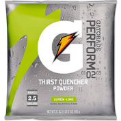 Gatorade®- Instant Powder, Lemon Lime,  21 oz., 32/Carton
