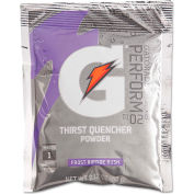 Gatorade® 2.12 Ounce Instant Powder Pouch Riptide Electrolyte Drink - Yields 1 Quart