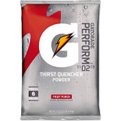 Gatorade®  Instant Powder Pouch Fruit Punch, 51 oz., 14/Carton