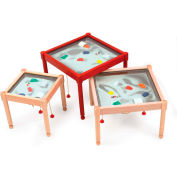 "The Children's Furniture Company® Square Magnetic Sand Table, 26""W x 22""H, Orange"