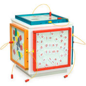 "The Children's Furniture Company® Cube W/5 Magnetic Mix Up Games, 21-1/2""Wx21-1/2""Dx25-1/2""H"