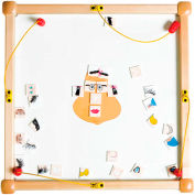 "The Children's Furniture Company® Play From The Top Funny Face, 26""W x 22""H, Orange"