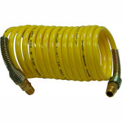 "Guardair 14X12B03, 1/4"" Id X 12' Recoil Air Hose Nylon Coilguard®"