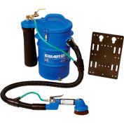 Guardair Composite Vacuum Series Personnel Cleaning Station, 5-1/2 Gallon Cap.