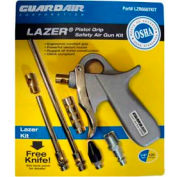 Guardair LZR6507KIT, Lazer Pistol Grip Safety Air Gun Kit (Pkg)