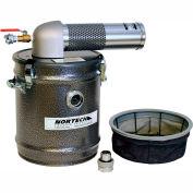 "8 Gallon D Pneumatic Vacuum Unit w/ 1.5"" Inlet"
