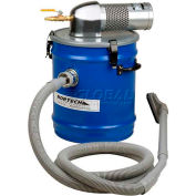"""8 Gallon M Pneumatic Vacuum Unit w/ 1.25"""" Inlet & Attachment Kit"""