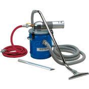 """8 Gallon S Pneumatic Vacuum Unit w/ 1.5"""" Inlet & Attachment Kit"""