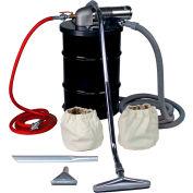 "30 Gallon D Pneumatic Vacuum Unit w/ 1.5"" Inlet & Powder Coating Attachment Kit"