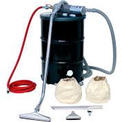 "Guardair 55 Gallon B Pneumatic Vacuum Unit w/ 1.5"" Inlet & Powder Coating Attachment Kit - N551BCXP"