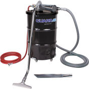 """55 Gallon D Pneumatic Vacuum Unit w/ 1.5"""" Inlet & Attachment Kit"""